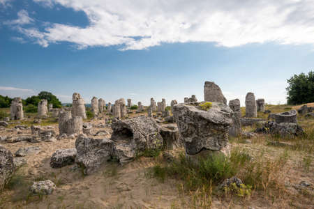 buena postura: Pobiti kamani - phenomenon rock formations in Bulgaria near Varna