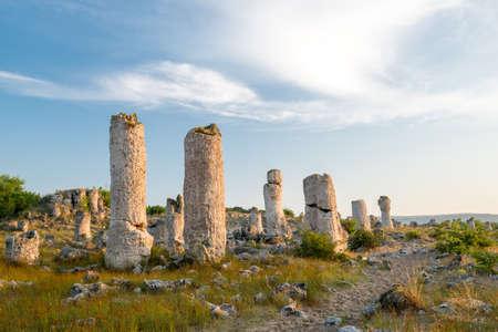 Pobiti カミナ - ヴァルナ ブルガリアで現象岩 写真素材