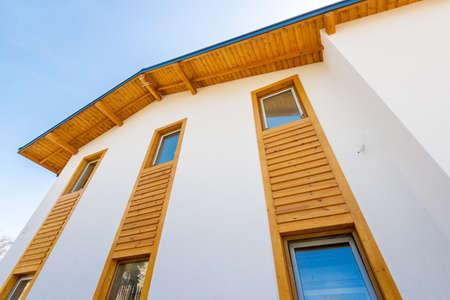 Unshinished 新しい木造住宅 - コピー スペース