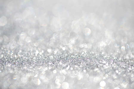 Snow background - shallow focus, space for text