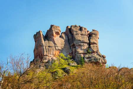 The rocks of Belogradchik (Bulgaria) - red color rock sculptures part