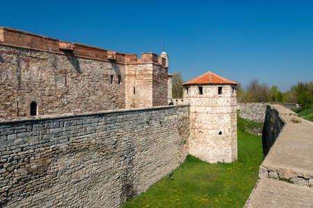 Baba Vida - old medieval fortress in Vidin, in northwestern Bulgaria. Travel destination.