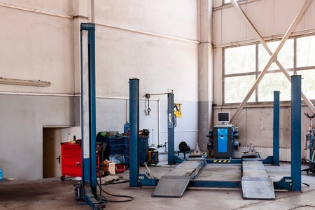 Maintenance of cars - tools, materials, equipment