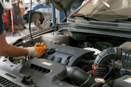 Maintenance of cars - tools, materials, equipment Stock Photo - 15220139