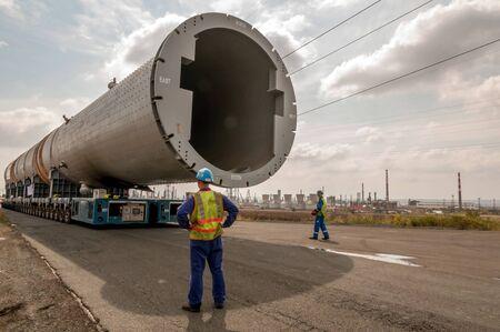 Hydrocracking mega installation. Stock Photo - 15772291