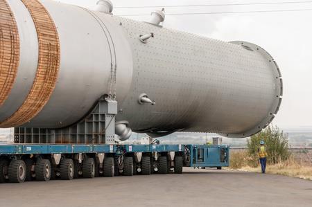 Hydrocracking mega installation. Editorial