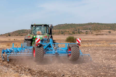Agricultural machinery used for cultivation Stock Photo - 15789095