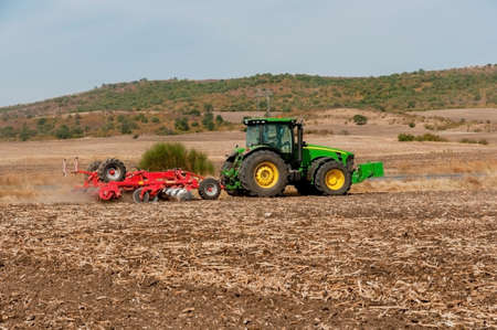 Agricultural machinery used for cultivation Stock Photo - 15794668
