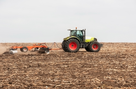 tillage: Agricultural machinery used for cultivation
