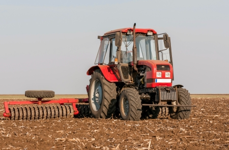 Agricultural machinery used for cultivation Stock Photo - 15775340
