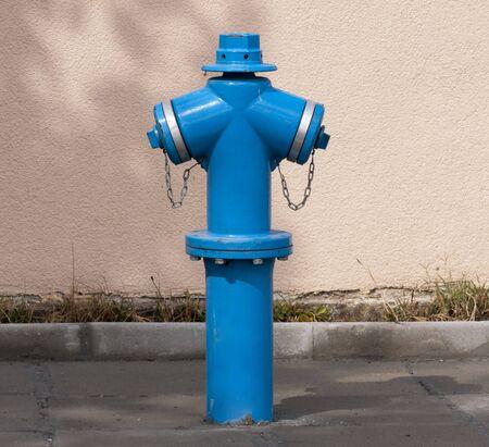Street fire hydrant  close up  Stock Photo