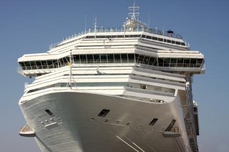 Cruise ship  Port of Rhodes