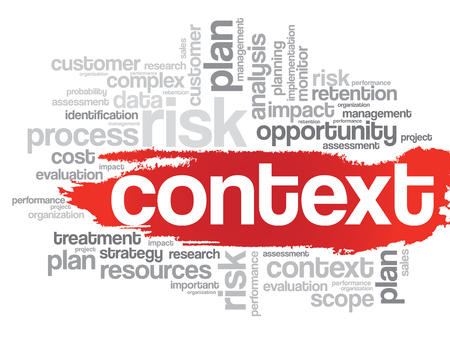 avoidance: Context concept in word tag cloud, vector background