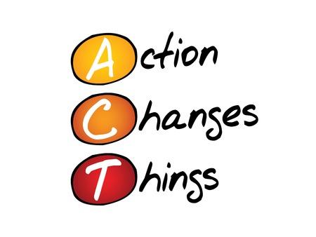 Cambios Acción Cosas (ACT), concepto de negocio acrónimo