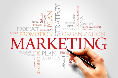 entrants: Marketing Words cloud, SWOT analysis business concept