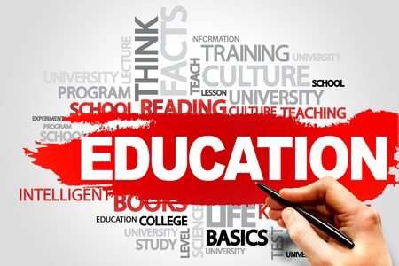 EDUCATION word cloud concept photo