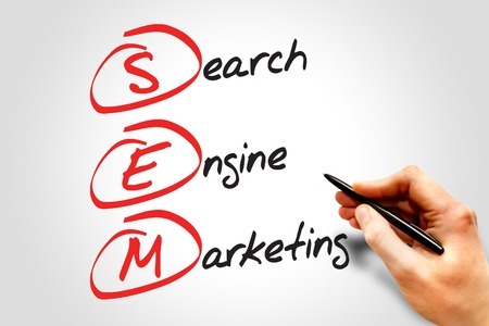 sem: SEM Search Engine Marketing, business concept