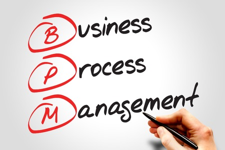 bpm: Business process management ( BPM ) acronym business concept