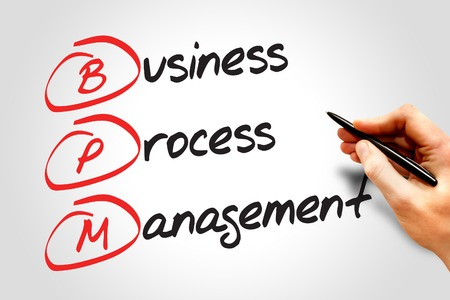 bpm: Business process management (BPM), business concept acronym