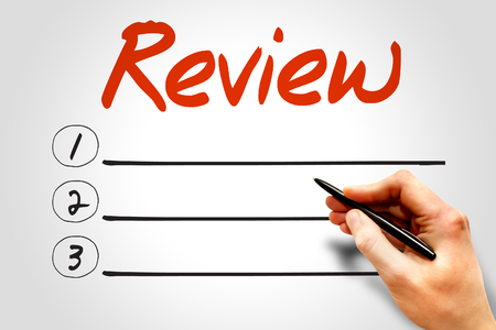 reassessment: REVIEW blank list, business concept