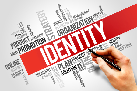authorisation: IDENTITY word cloud, business concept Stock Photo