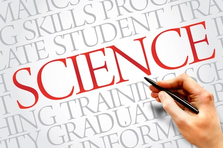 SCIENCE word cloud, education business concept