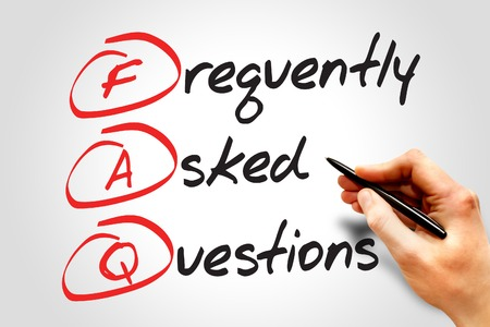 よく寄せられる質問 (FAQ)、ビジネス コンセプト頭字語