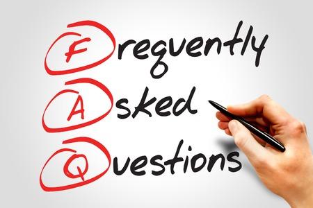 자주 묻는 질문 (FAQ), 비즈니스 개념 약어