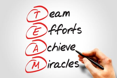 communicative: TEAM, business concept acronym