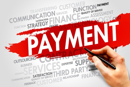 payment: PAYMENT word cloud, business concept