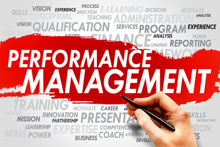 documented: Performance Management word cloud, business concept