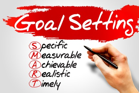 business project: SMART Goal Setting, business concept