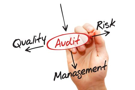 outcomes: Several possible outcomes of performing an AUDIT, business concept decision