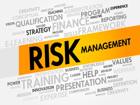avoidance: Risk Management word cloud, business concept