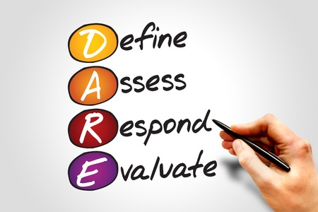 define: Define Assess Respond Evaluate (DARE), business concept acronym