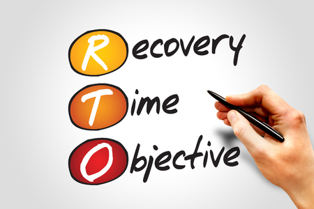 Recovery Time Objective (RTO), business concept acronym photo