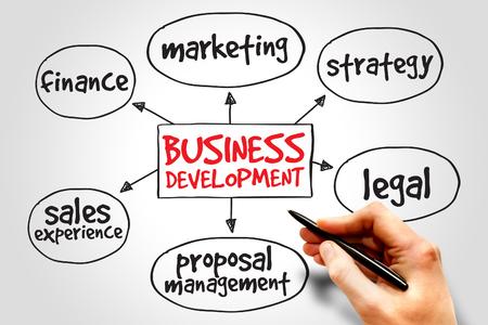 mindmap: Business development mind map, business concept