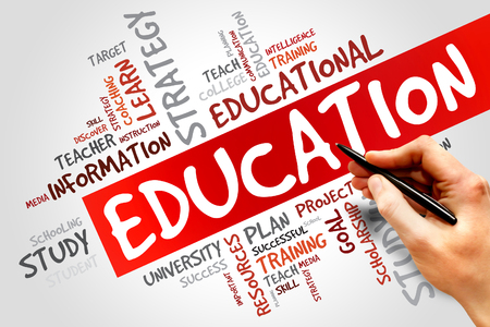 EDUCATION word cloud concept Stok Fotoğraf - 40765449