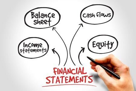 financial statements: Financial statements process, business management strategy