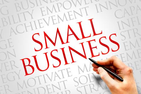 Small Business-Wort-Wolke, Business-Konzept