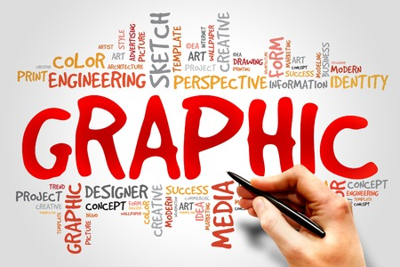 graphic print: GRAPHIC word cloud concept
