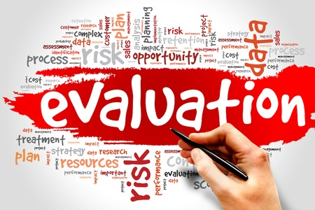 formative: Evaluation word cloud, business concept