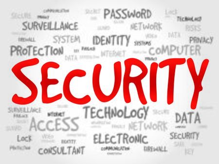 tag cloud: SECURITY word cloud, business concept