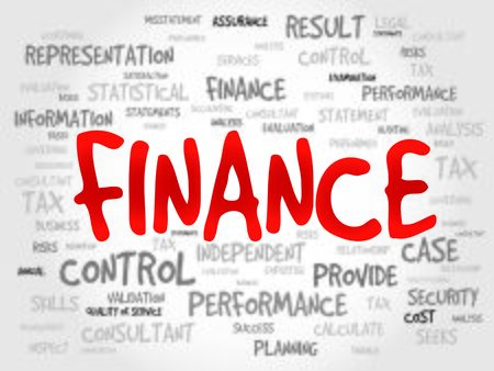 interst: FINANCE word cloud, business concept