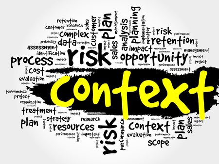context: Context word cloud, business concept