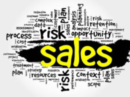 retailing: Word Cloud with Sales related tags, business concept Illustration