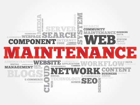 requirement: Maintenance word cloud, business concept