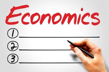 normative: ECONOMICS blank list, business concept