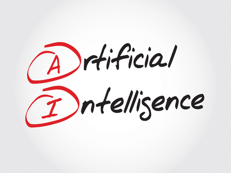 artificial: AI - Artificial Intelligence, acronym concept