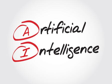 ai: AI - Artificial Intelligence, acronym concept
